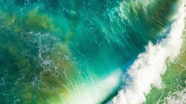 Бушующие волны
