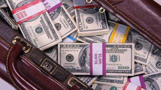 Полный чемодан долларов