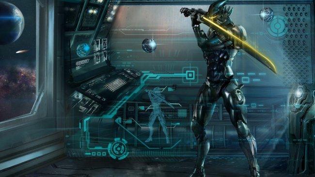 Самурай будущего в космосе