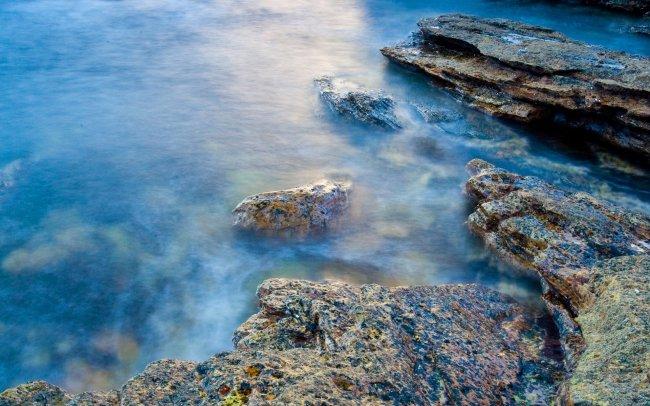 Скалистый берег Шотландии