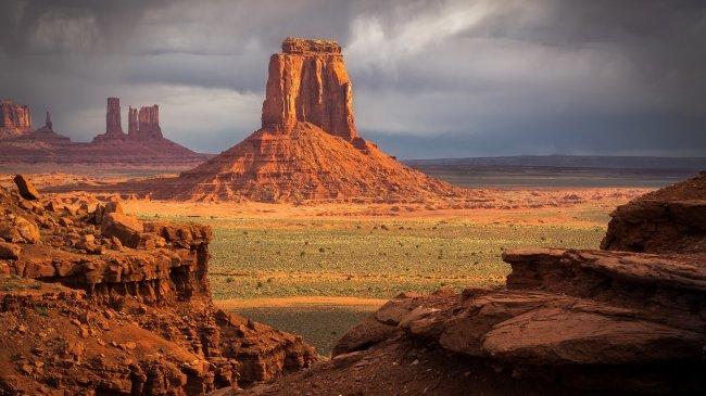 Долина монументов Аризона, Юта, США