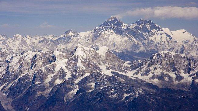 Гора Эверест, Непал, Азия