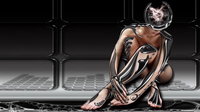 Девушка - робот