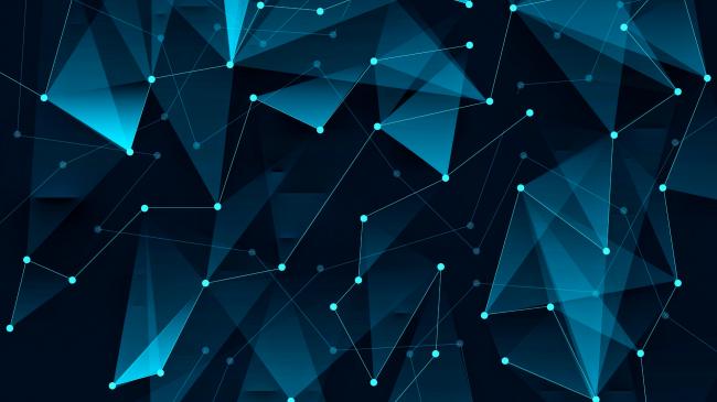 Полигональный фон