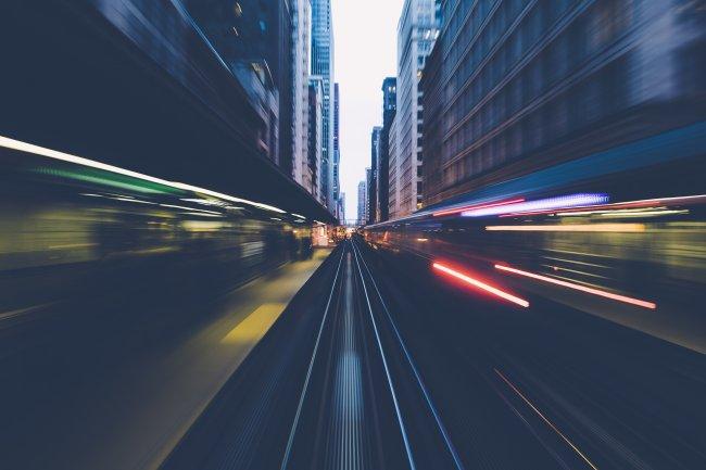Железная дорога в Чикаго