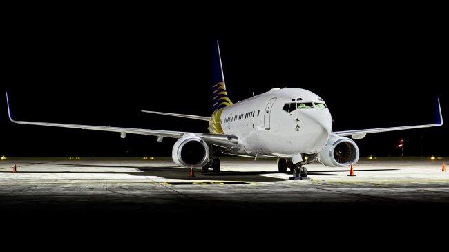 Узкофюзеляжный пассажирский самолёт Boeing 737