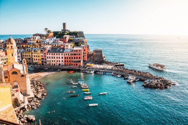 Населённый пункт Вернацца в Италии