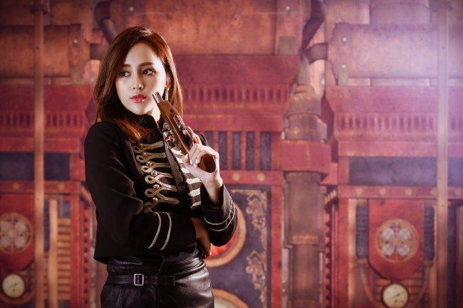 Азиатка с мушкетом