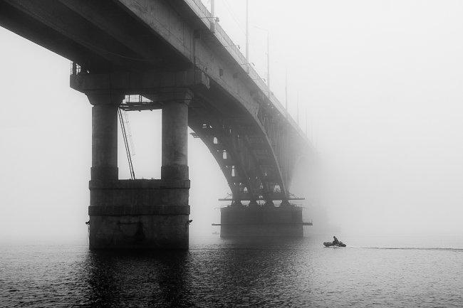 Туманный мост Саратов-Энгельс