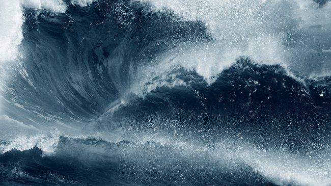 Бушующий океан