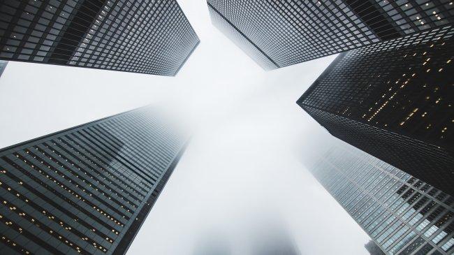 Современные бизнес-небоскребы