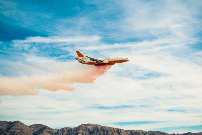 Тушение пожаров с самолета