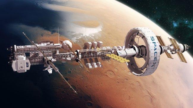 Орбитальная станция SpaceX