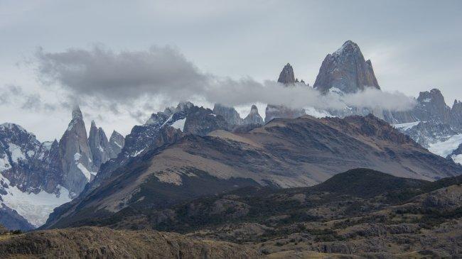 Вершина Фицрой в Южной Америке