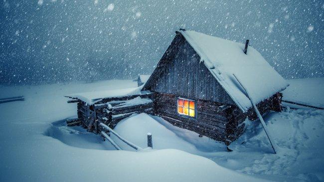 Зимняя избушка