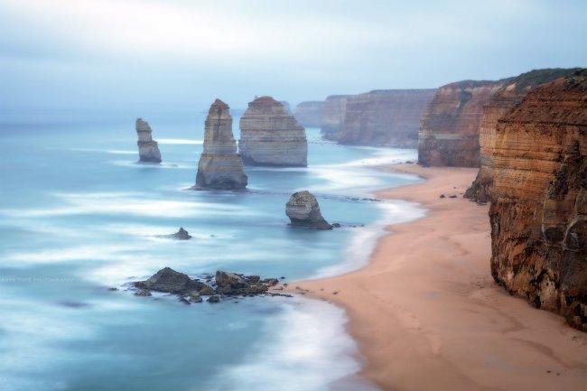 12 апостолов в национальном парке Кэмпбелл, Австралия