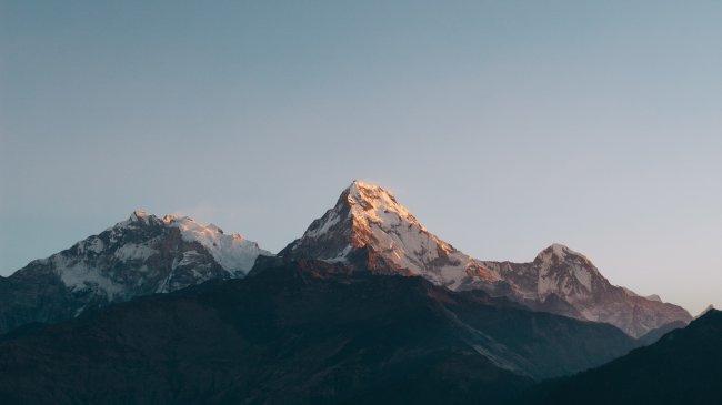 Горный массив Аннапурна в Непале