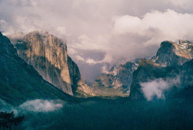 Горы Сьерра-Невада, Калифорния