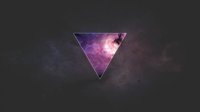 Космос с эффектом Polyscape