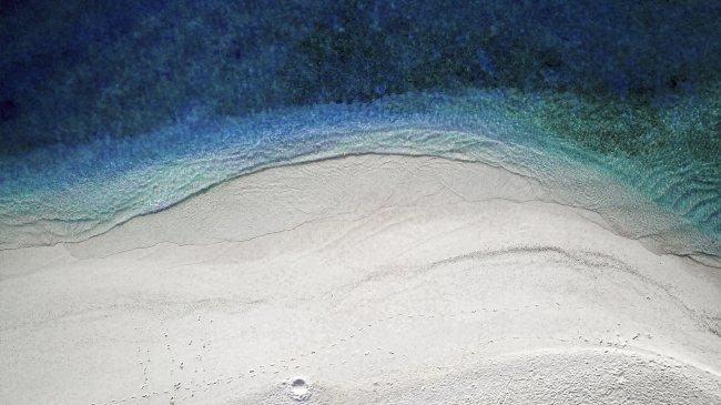 Пляж на Мальдивах