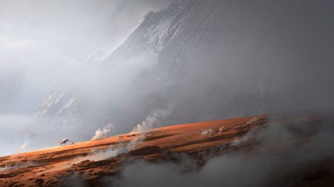 The ridge by Jama Jurabaev