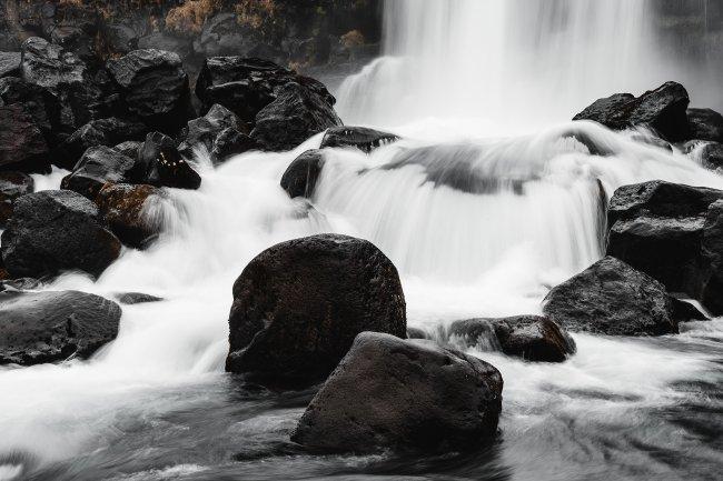 Водопад Эхсараурфосс в Исландии