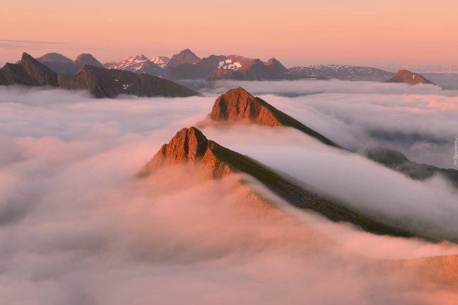 Остров Сенья в Норвегии