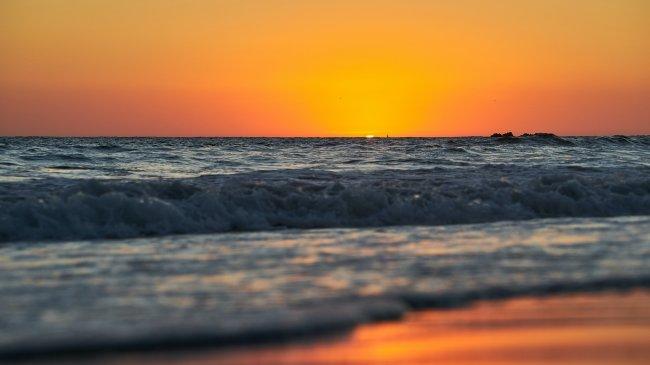Безупречный морской закат