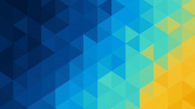 Треугольный полигональный фон
