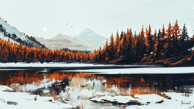 Serenity by Alena Aenami