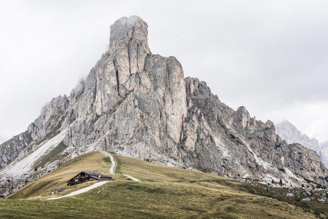 Перевал Пассо-Джау, Доломиты, Италия
