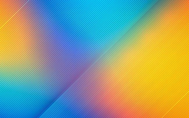 Абстрактные яркие красочные линии