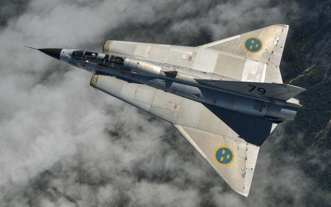 Истребитель Saab 35 Draken