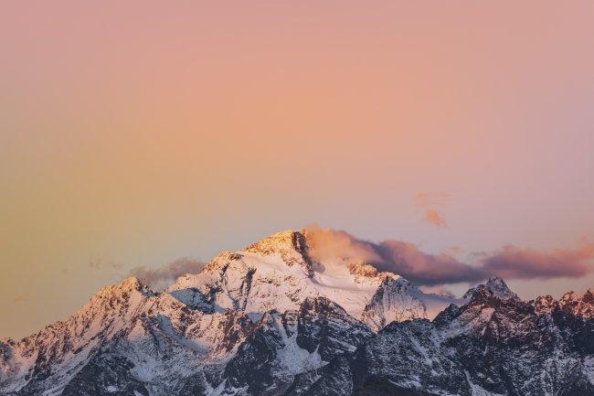Гора Дисграция в Италии