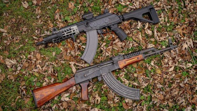 Автоматы Galil ACE и АК-74