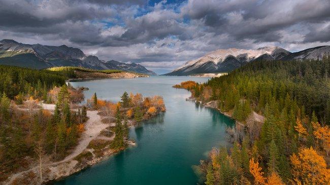 Водохранилище Эйбрахам в Канаде