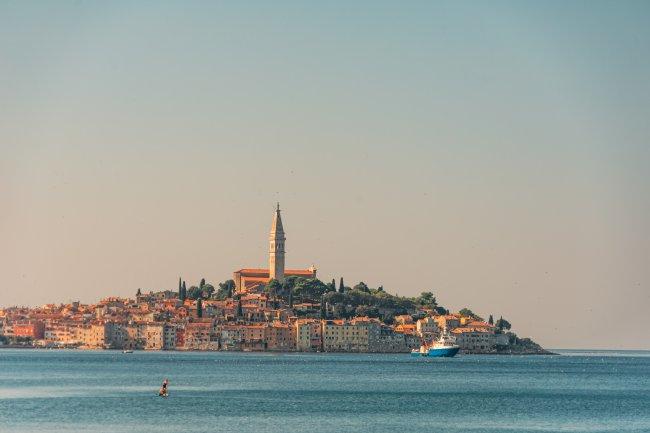 Прибрежный город Ровинь, Истрия, Хорватия