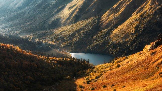Озеро Кардывач в Краснодарском крае
